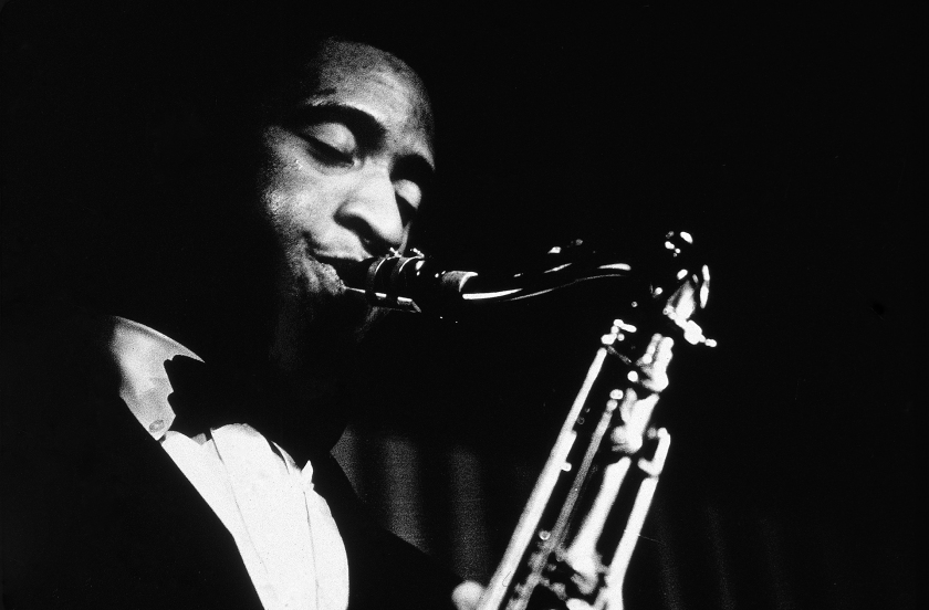 Sonny Rollins Performs